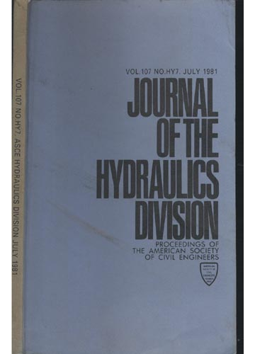 Asce Hydraulics Division - July.1981 - Vol.107 - No.Hy7.