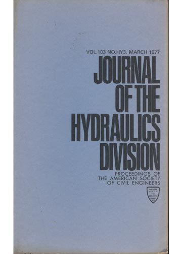 Asce Hydraulics Division - March 1977 - Vol. 103 - No.Hy3.