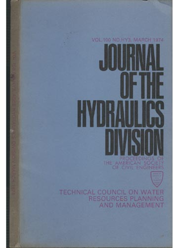 Asce Hydraulics Division - March 1974 - Vol. 100 - No.Hy3.