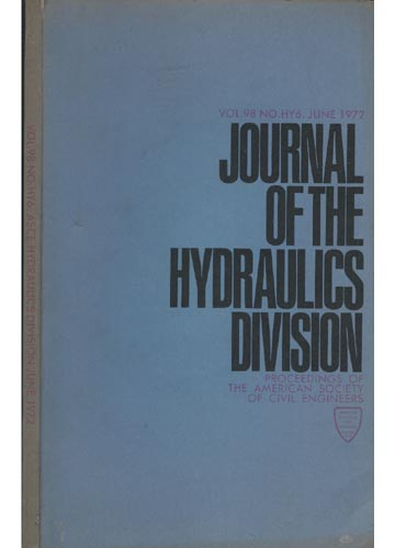 Asce Hydraulics Division - June 1972 - Vol. 98 - No.Hy6.
