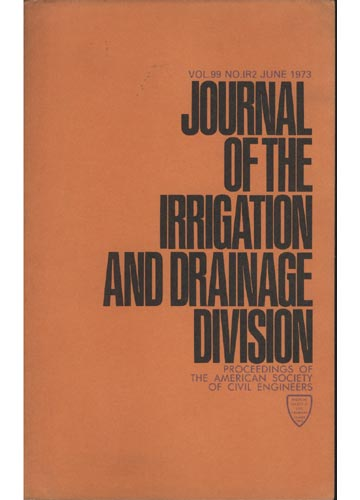 Asce Irrigation and Drainage Division - June 1973 - Vol. 99 - No.IR2