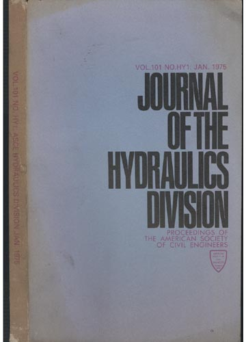 Asce Hydraulics Division - Jan 1975 - Vol.101 - No.Hy1.