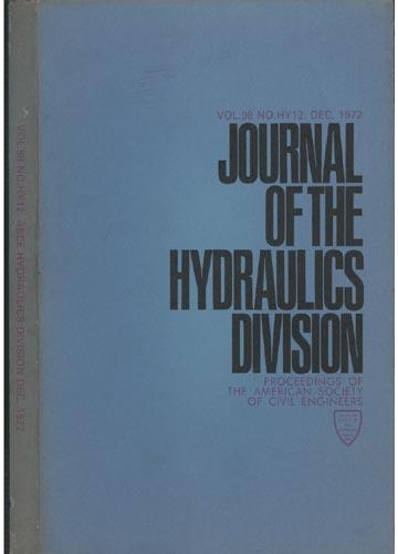 Asce Hydraulics Division - Dec. 1972 - Vol.98 - No.Hy12.