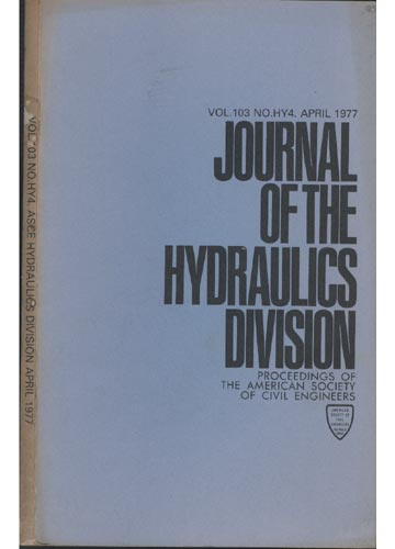 Asce Hydraulics Division - April 1977 - Vol.103 - No.Hy4.