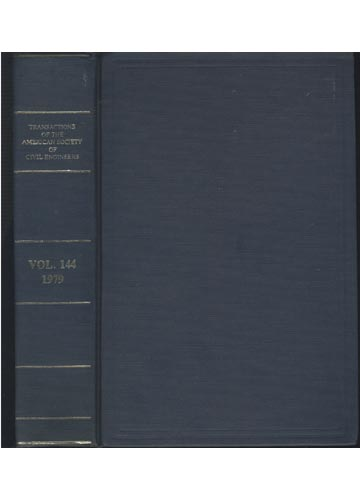 Transactions of the American Society of Civil Engineers - Volume 144 - 1979
