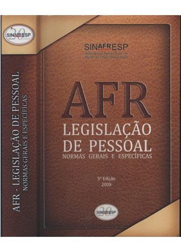 AFR Legislação de Pessoal - Normas Gerais e Específicas