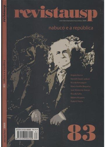 Revistausp - Nº.83 - Nabuco e a República