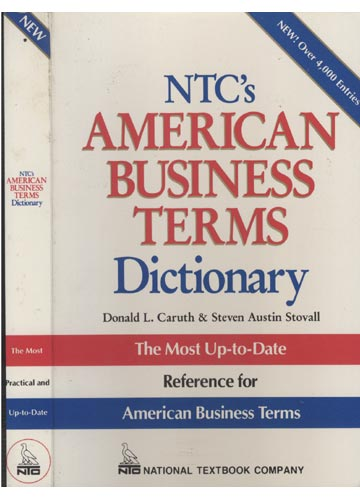 Ntc's American Business Terms Dictionary