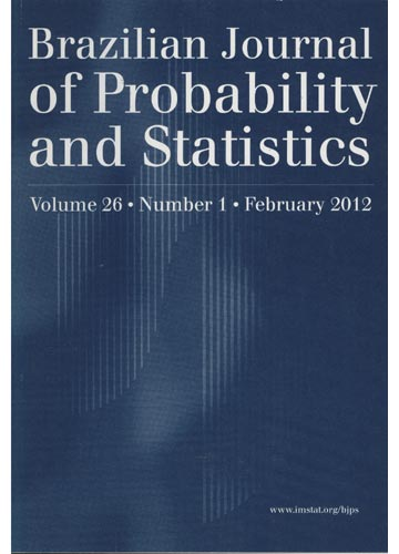 Brazilian Journal of Probability and Statistics - Vol. 26 / Number 1 / February 2012