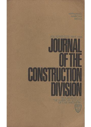 Asce Construction Division - Mar. 1966 - Vol. 92 - No.Co2.