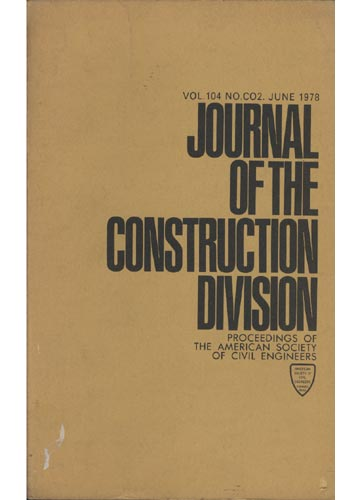 Asce Construction Division - June 1978 - Vol. 104 - No.Co2.