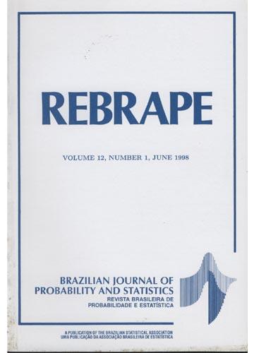 REBRAPE - Volume 12 - Number 1 - 1998