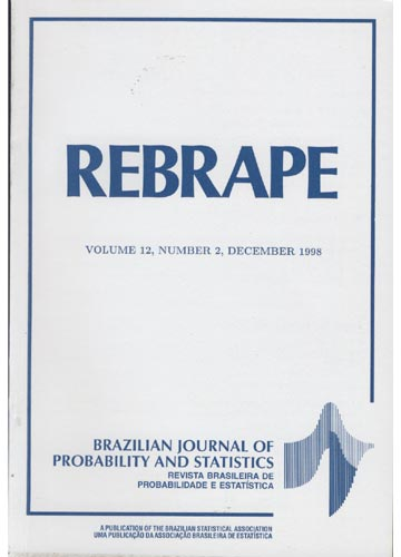 REBRAPE - Volume 12 - Number 2 - 1998