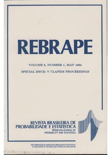 REBRAPE - Volume 8 - Number 1 - 1994