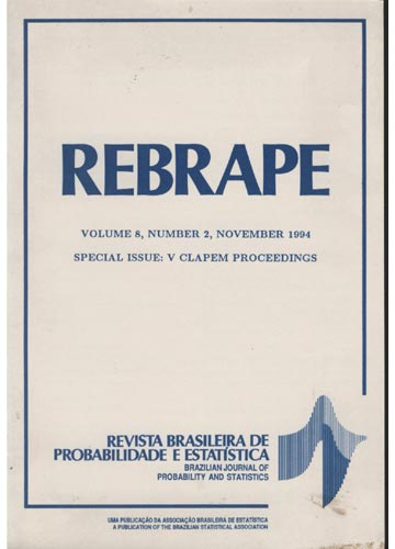 REBRAPE - Volume 8 - Number 2 - 1994