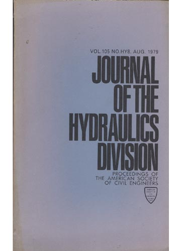 Asce Hydraulics Division - Aug. 1979 - Vol.105 - No.Hy8.