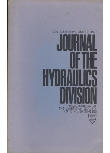 Asce Hydraulics Division - March 1978 - Vol.104 - No.Hy3.