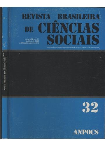 Revista Brasileira de Ciências Sociais - Número 32 - Volume 11 - Outubro de 1996