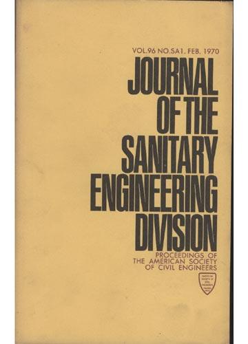 Asce Sanitary Engineering Division - Feb. 1970 - Vol.96 - No.Sa1.
