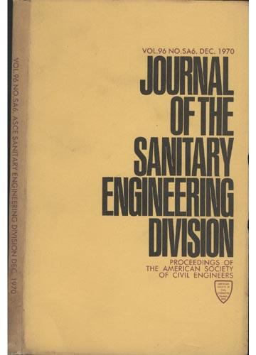 Asce Sanitary Engineering Division - Dec. 1970 - Vol.96 - No.Sa6.