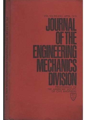 Asce Engineering Mechanics Division - April 1979 - Vol.105 - No.Em2.
