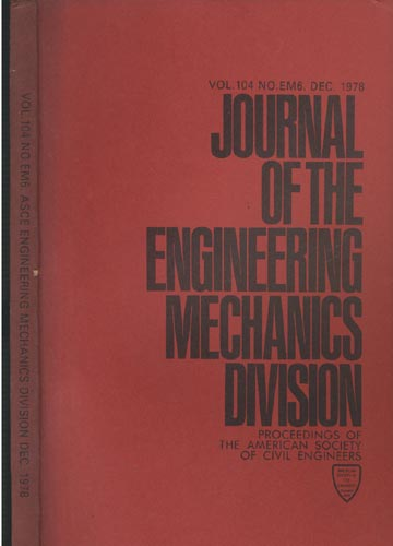 Asce Engineering Mechanics Division - Dec. 1978 - Vol.104 - No.Em6.