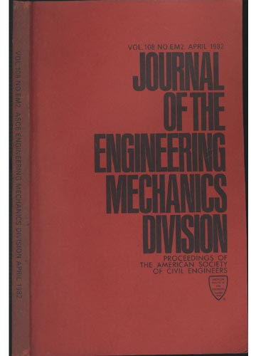 Asce Engineering Mechanics Division - April 1982 - Vol.108 - No.Em2.