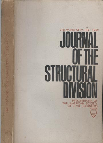 Asce Structural Division - Dec. 1969 - Vol. 95 - No.St12