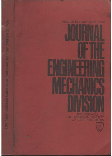 Asce Engineering Mechanics Division - April 1974 - Vol.100 - No.Em2.