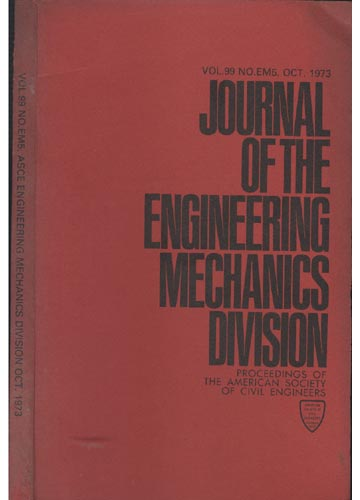 Asce Engineering Mechanics Division - Oct. 1973 - Vol.99 - No.Em5.