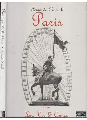 Paris para Ler Ver & Comer