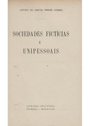 Sociedades Fictícias e Unipessoais