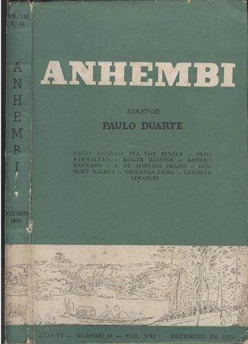 Anhembi - Nº 61 - Volume XXI