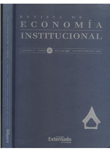 Revista de Economía Institucional - Volumen II - Número 21 - Segundo Semestre / 2009