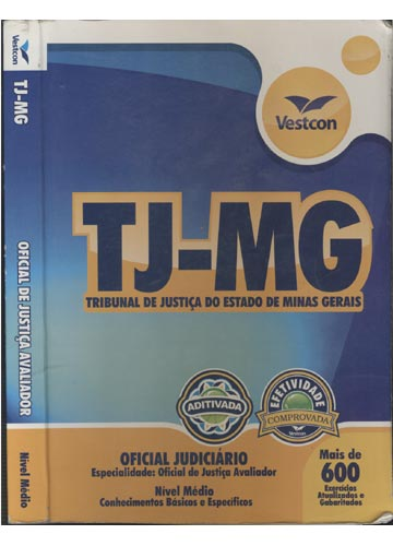 TJ-MG - Oficial de Justiça Avliador
