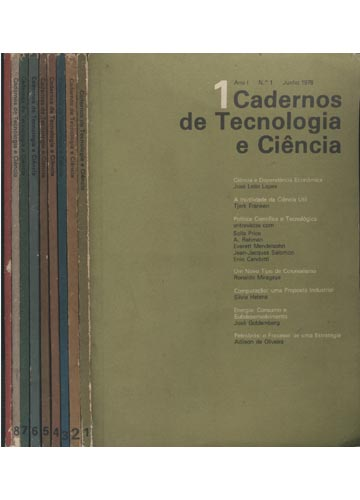 Cadernos de Tecnologia e Ciência - 9 Volumes