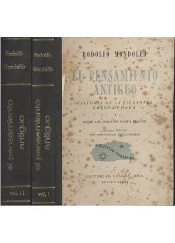 El Pensamiento Antiguo - 2 Volumes