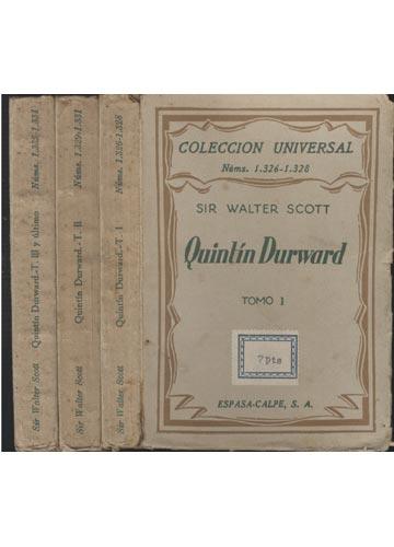 Quintín Durwar - 4 Tomos em 3 Volumes