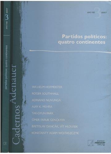 Partidos Políticos - Quatro Continentes - Nº.3 - Ano VIII - N - 2007