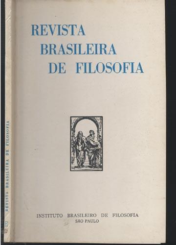 Revista Brasileira de Filosofia - Fasc 172 - Volume XLI