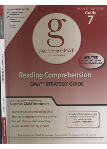 Manhattam GMAT - Guide 7 - Reading Comprehension