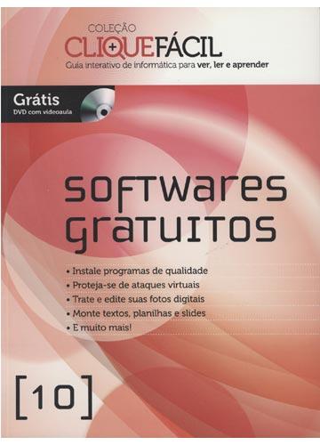 Coleção Clique Fácil - Guia Interativo de Informática para Ver Ler e Aprender - Softwares Gratuitos -  Com DVD