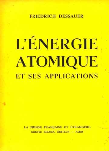 L'énergie Atomique et ses Applications