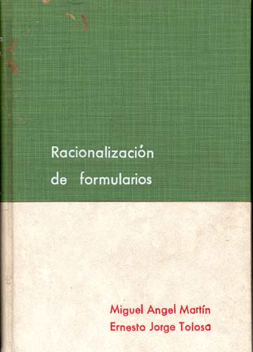 Racionalización de Formularios