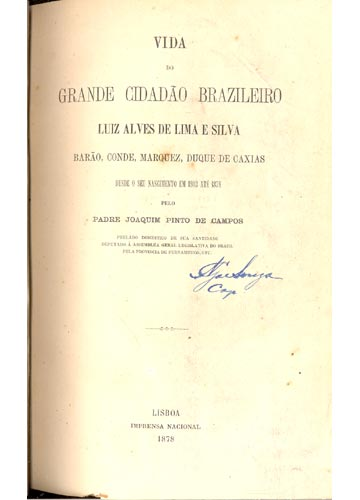 Vida do Grande Cidadão Brasileiro Luiz Alves de Lima