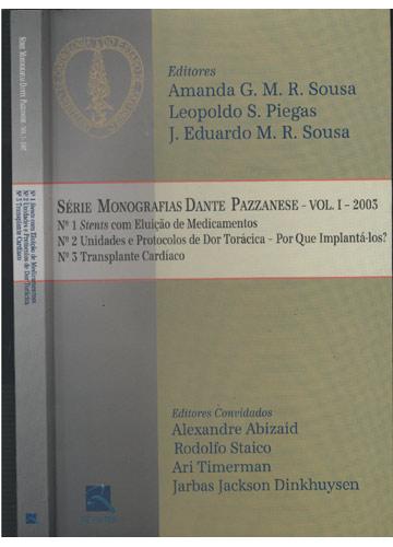 Série Monografias Dante Pazzanese - Volume I - 2003