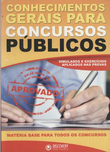 Conhecimentos Gerais Para Concursos Públicos