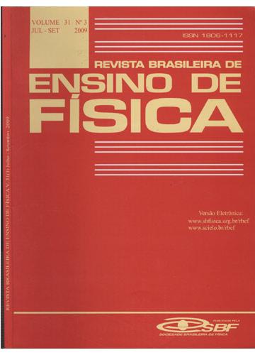 Revista Brasileira de Ensino de Física - Volume 31 - Nº 3 - Julho-Setembro - 2009