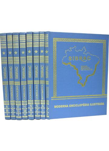 Coleção Sibrac - Sistema Brasileiro de Consultas - 8 Volumes