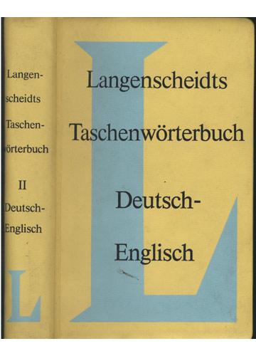 Langenscheidts Taschenwörterbuch - Deutsch-English - Volume 2